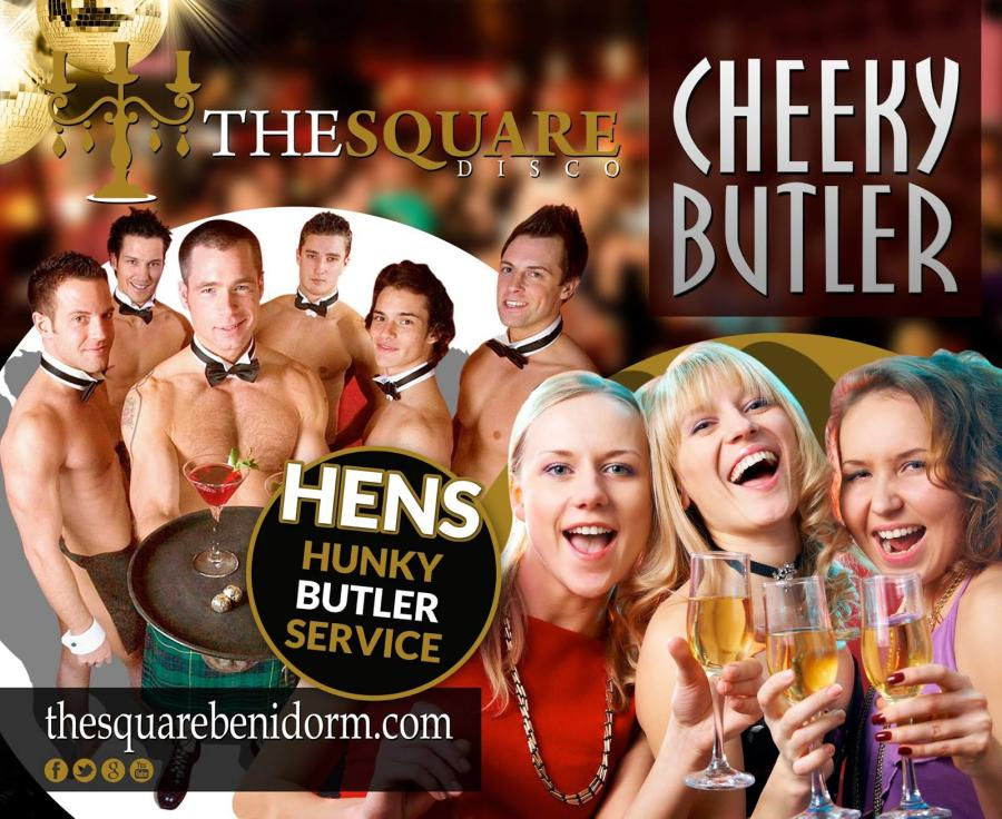 CHEEKY BUTLER, HENS HUNKY BUTLER SERVICE
